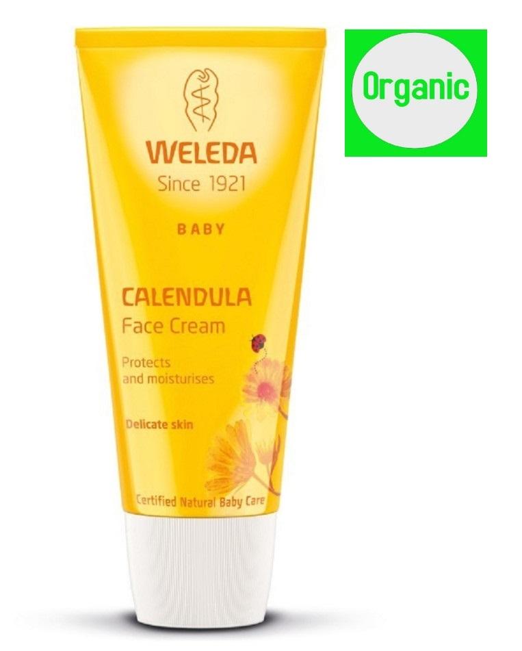 Weleda Baby Calendula Face Cream 50 ml Organic