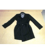 London Fog Medium Womens Coat Black Polyester A... - $43.41