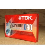 TDK Cassette Superior Normal Bias 90min D90 * P... - $4.05