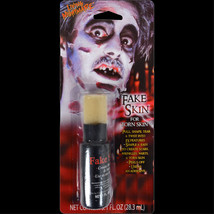Walking Dead Zombie-FAKE SKIN-Torn Scars Wound FX Special Effects Horror... - $4.92