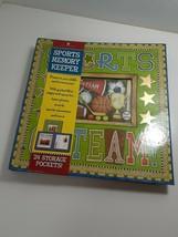 New Seasons Sports Memory Keeper Album Pictures Kids Team Memories Create - $19.80