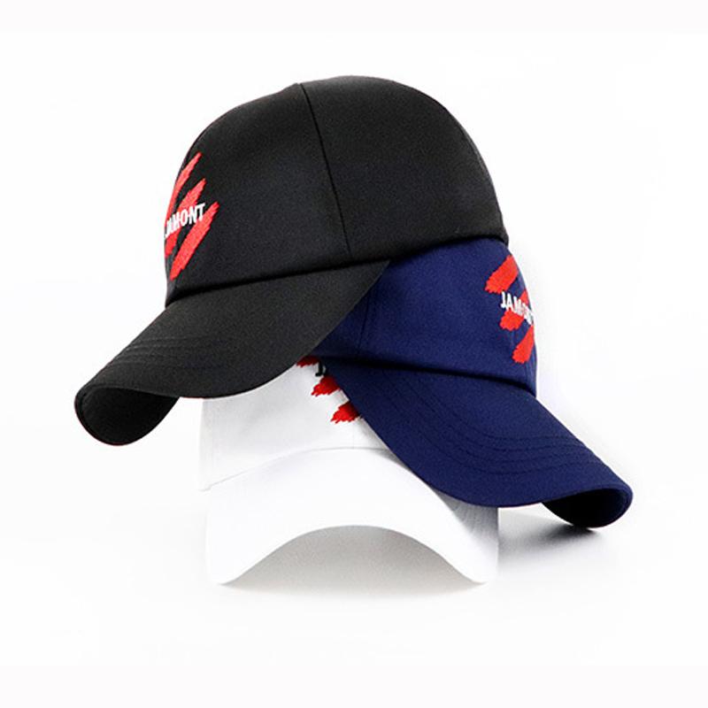 Baseball Cap Casquette Buckle Ajustable Letter Logo Cap Casual Unisex Kids Adult