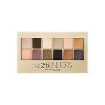 MAYBELLINE The 24K Nudes Eyeshadow Palette (Free Ship) - $11.99