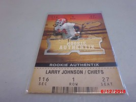 2003 Fleer Authentix #109 Larry Johnson ROOKIE #d 0752/1250 -Kansas City... - $2.97