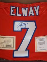 JOHN ELWAY AUTOGRAPHED ORANGE CRUSH JERSEY - $400.00
