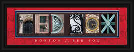 Boston Red Sox  Framed Letter Art - $33.96