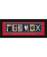Boston Red Sox  Framed Letter Art - $39.95