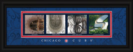 Chicago Cubs Officially Licensed Framed Letter Art - $33.96