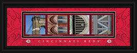 Cincinnati Reds Officially Licensed Framed Letter Art - $33.96