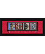 Cincinnati Reds Officially Licensed Framed Letter Art - $39.95