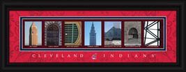 Cleveland Indians Officially Licensed Framed Letter Art - $33.96