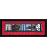 Cleveland Indians Officially Licensed Framed Letter Art - $39.95