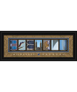 Milwaukee Brewers Licensed Framed Letter Art - $39.95