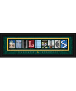 Oakland Athletics Officially Licensed Framed Letter Art - $39.95