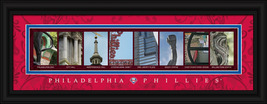 Philadelphia Phillies Officially Licensed Framed Letter Art - $39.95