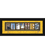 Pittsburgh Pirates Officially Licensed Framed Letter Art - $39.95