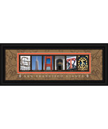San Francisco Giants Officially Licensed Framed Letter Art - $39.95
