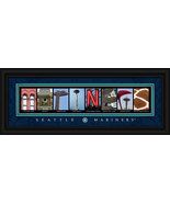 Seattle Mariners Officially Licensed Framed Letter Art - $39.95