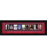 Washington Nationals Officially Licensed Framed Letter Art - $39.95