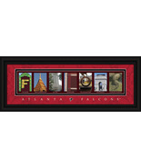 Atlanta Falcons Officially Licensed Framed Letter Art - $39.95