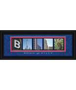 Buffalo Bills Officially Licensed Framed Letter Art - $39.95