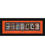 Cincinnati Bengals Officially Licensed Framed Letter Art - $39.95