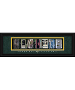 Green Bay Packers Officially Licensed Framed Letter Art - $39.95
