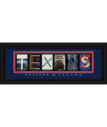 Houston Texans Officially Licensed Framed Letter Art - $39.95