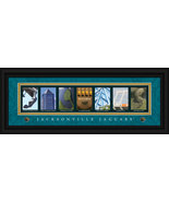 Jacksonville Jaguars Officially Licensed Framed Letter Art - $39.95