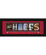 Kansas City Chiefs Officially Licensed Framed Letter Art - $39.95