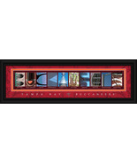 Tampa Bay Buccaneers Officially Licensed Framed Letter Art - $39.95