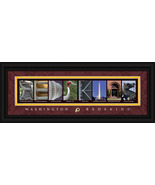 Washington Redskins Officially Licensed Framed Letter Art - $39.95