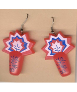 FIRECRACKERS EARRINGS-4th of July New Year Party Fireworks Funky Costume... - $5.97