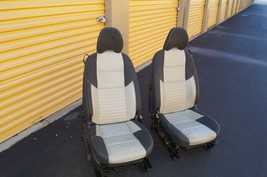 08 Volvo C30 R-DESIGN Front Seats W/ Airbags & Tracks image 1