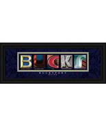 Bucksport, Maine Framed Letter Art - $39.95