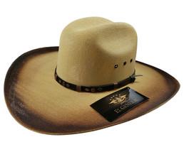 Men's Western Hat El General Sombrero Chihuahua Doble Tela Bicolor - €41,49 EUR