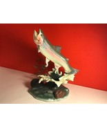 DANBURY MINT TROUT TREASURE FISH STATUE SCULPTURE FIGURINE STEELHEAD PRI... - $123.75