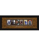 Medora, North Dakota Framed Letter Art - $39.95
