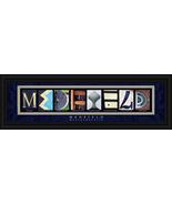 Medfield, Massachusetts Framed Letter Art - $39.95