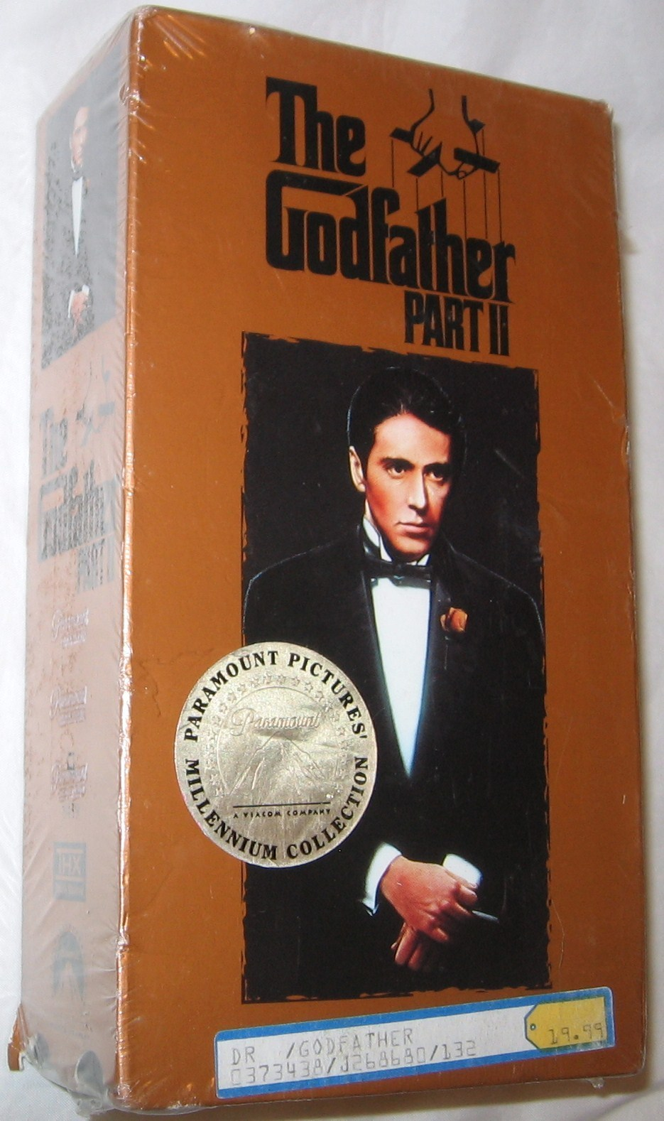 Primary image for The Godfather Part II VHS 1997 2-Tape Set, Closed Captioned Free Shipping U.S.A.