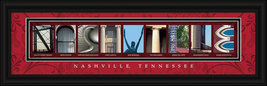Nashville, Tennessee Framed Letter Art - $39.95