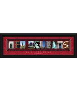 New Orleans, Louisiana Framed Letter Art - $39.95