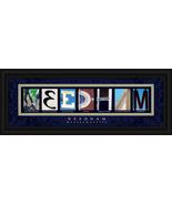 Needham, Massachusetts Framed Letter Art - $39.95