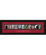 Newburyport, Massachusetts Framed Letter Art - $39.95