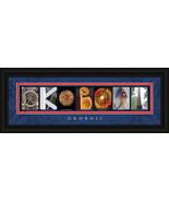 Okoboji, Iowa Framed Letter Art - $39.95