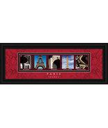 Paris, France Framed Letter Art - $39.95