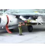USAF Ground Support Crew 1:72 Pro Built Model #4 - $14.83