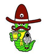 Worm Shooter-Digital Download-ClipArt-Art Clip-... - $3.00