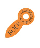 Boo Orange Rattle-Digital Download-ClipArt-Art Clip-Digital Art - $4.00