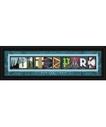 Winter Park Colorado Framed Letter Art - $39.95
